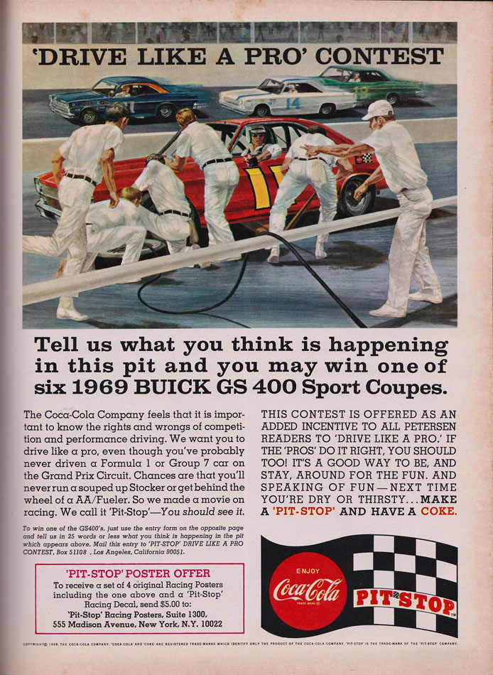 Win A 69 Buick GS400 Sport Coupe Ad