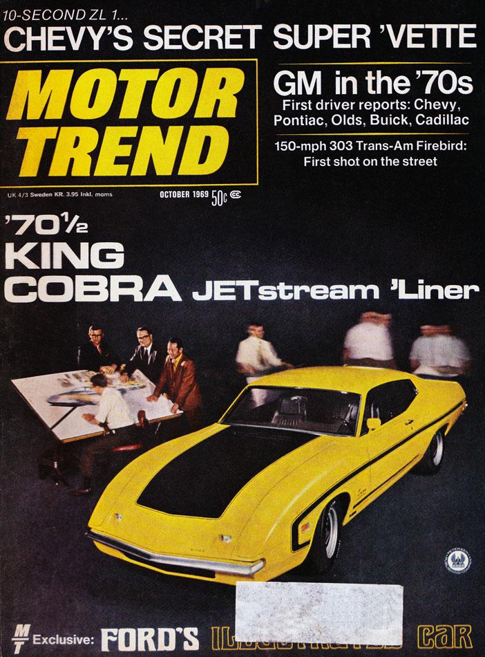 1970 Ford King Cobra Nascar Prototype Story