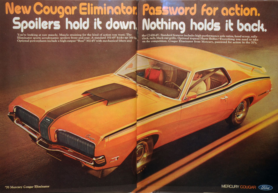 1970 Ford Mercury Cougar Eliminator