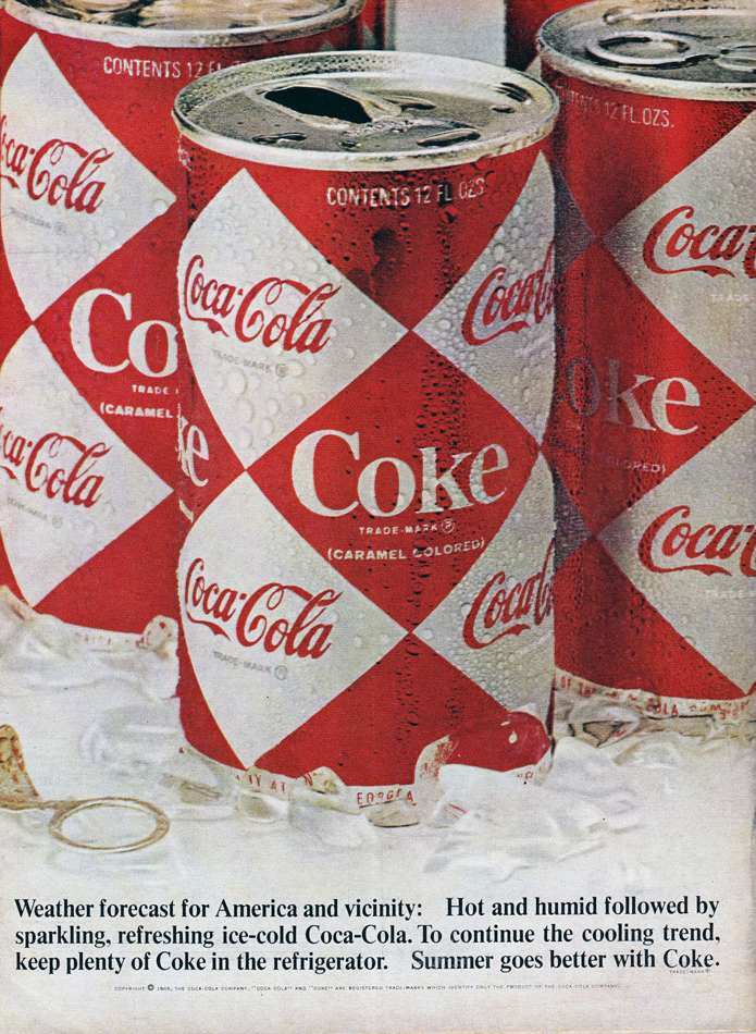 Coke Old Style Can Ad