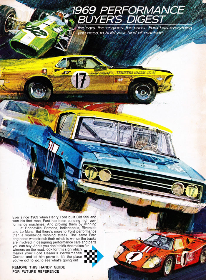 69 Ford Performance Parts Guide