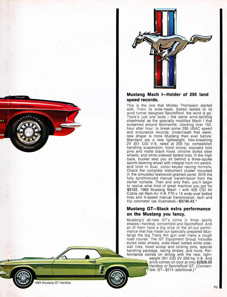 69 Ford Performance Parts Guide 5