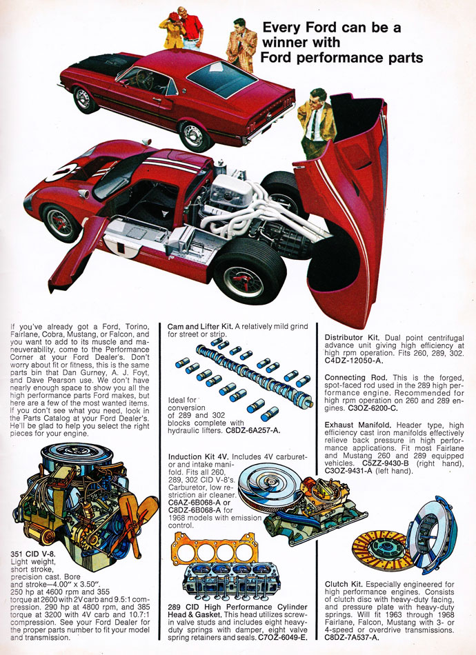 69 Ford Performance Parts Guide 6