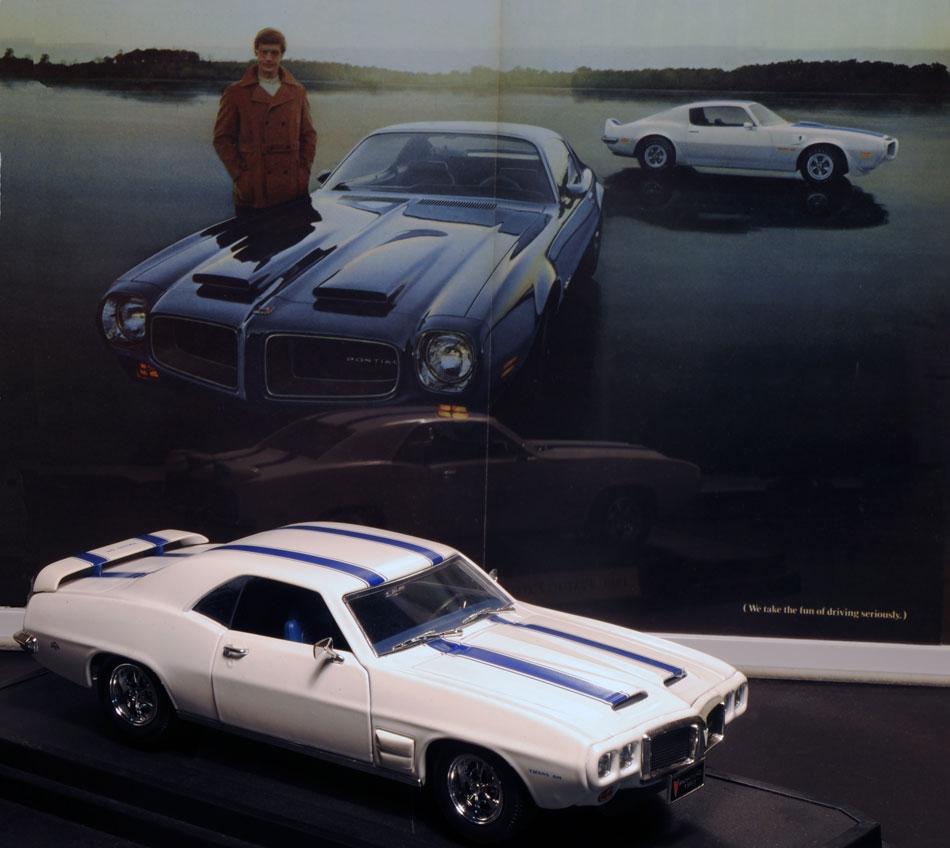 69 Pontiac Firebird TransAm DieCast Ad