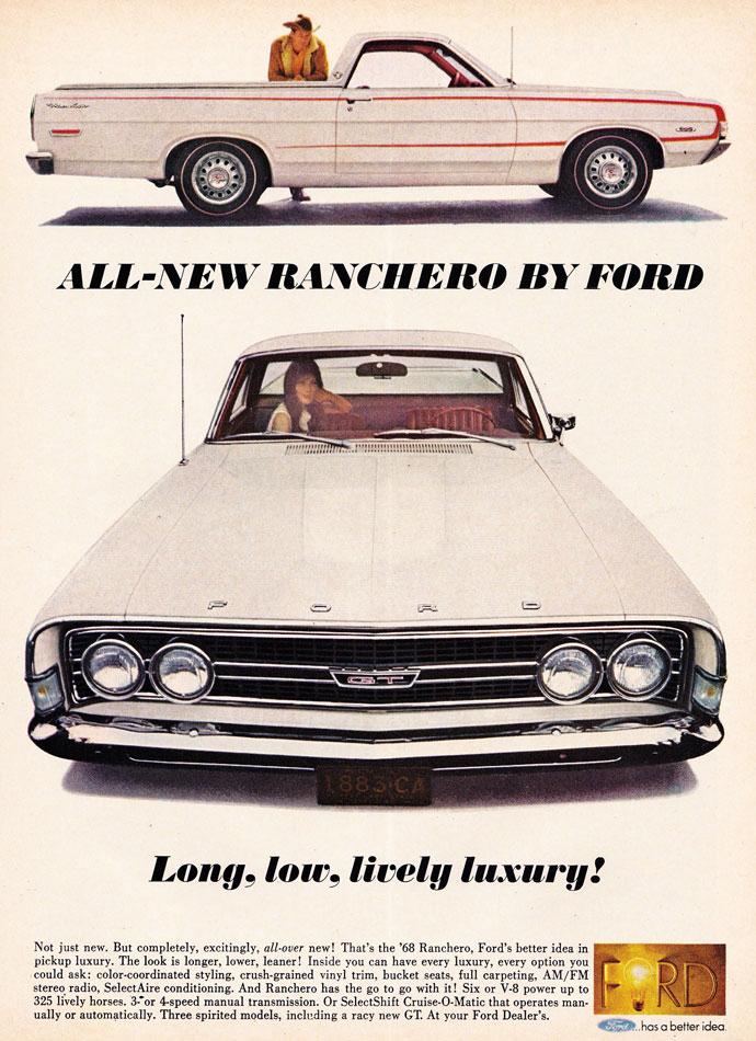 68 Ford Ranchero GT