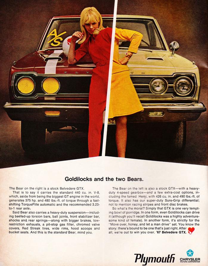 68 Plymouth GTX Nascar Ad