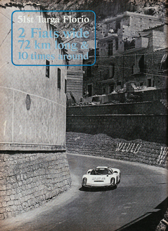67 Ford V Ferrari Targa Florio Italy