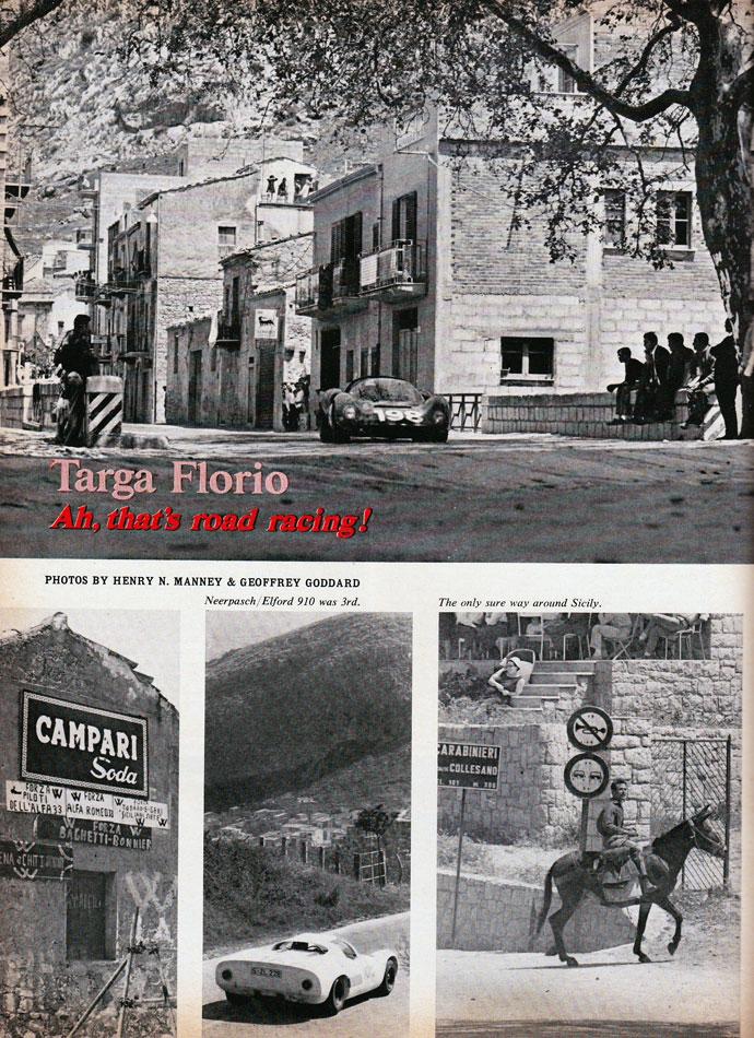 67 Ford V Ferrari Targa Florio Italy 5a