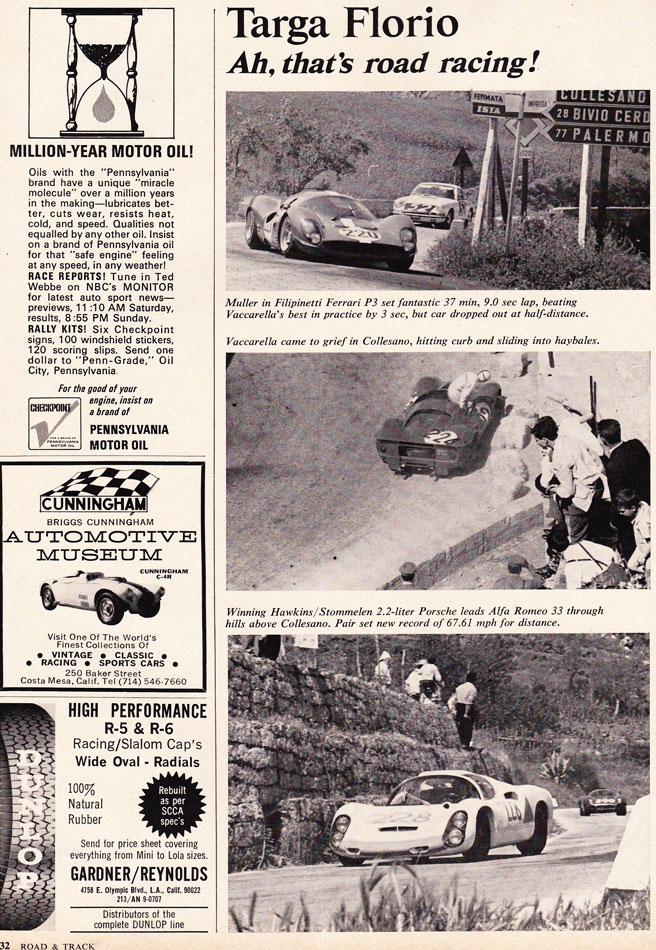 67 Ford V Ferrari Targa Florio Italy 7