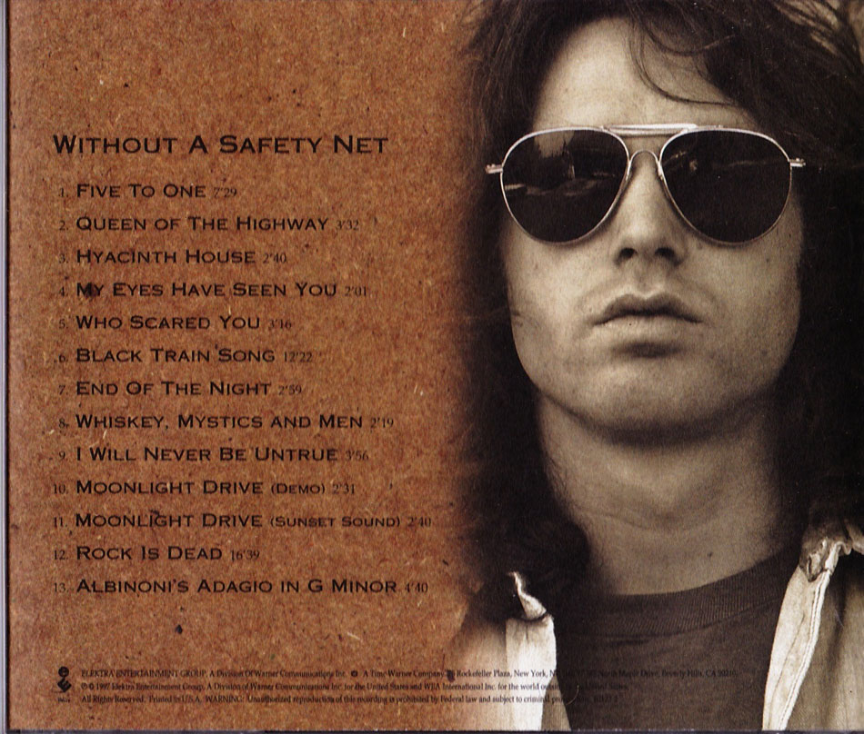 Jim Morrison Without A Safety Net