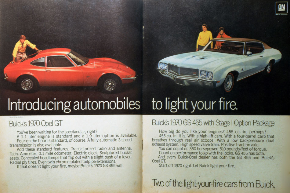 Light My Fire Buick Opel Ad