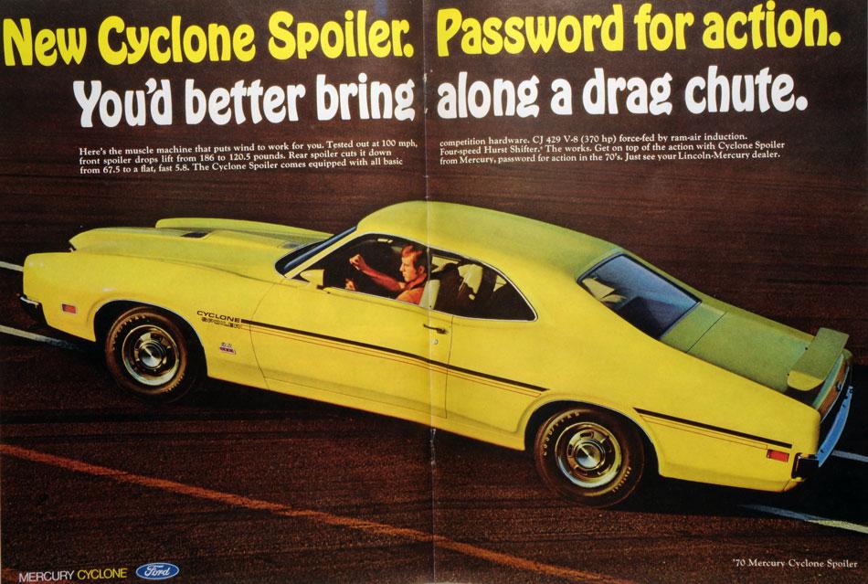 1970FordMercuryCycloneSpoilerAd4web