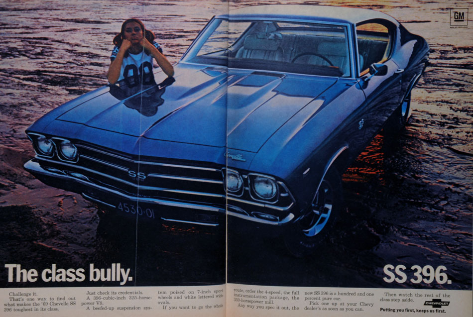 1969 Chevy SS396 Ad