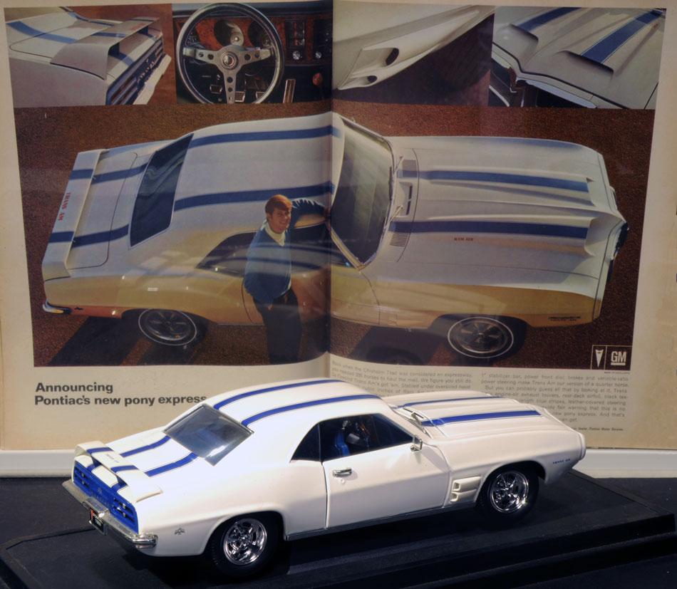 1969 Pontiac Firebird TransAm Ad