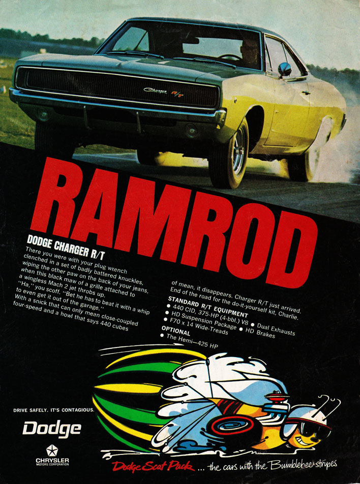 69 Charger Ramrod Ad