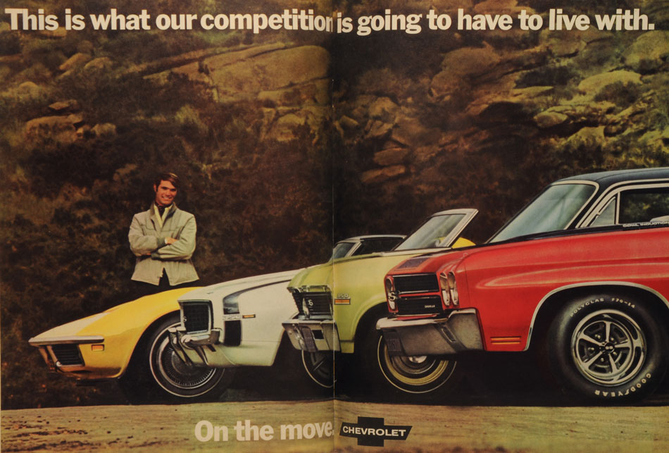 69 Chevys On The Move Ad