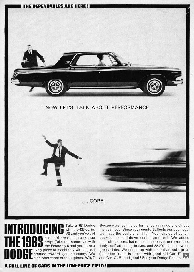 63 Dodge 426 Ad