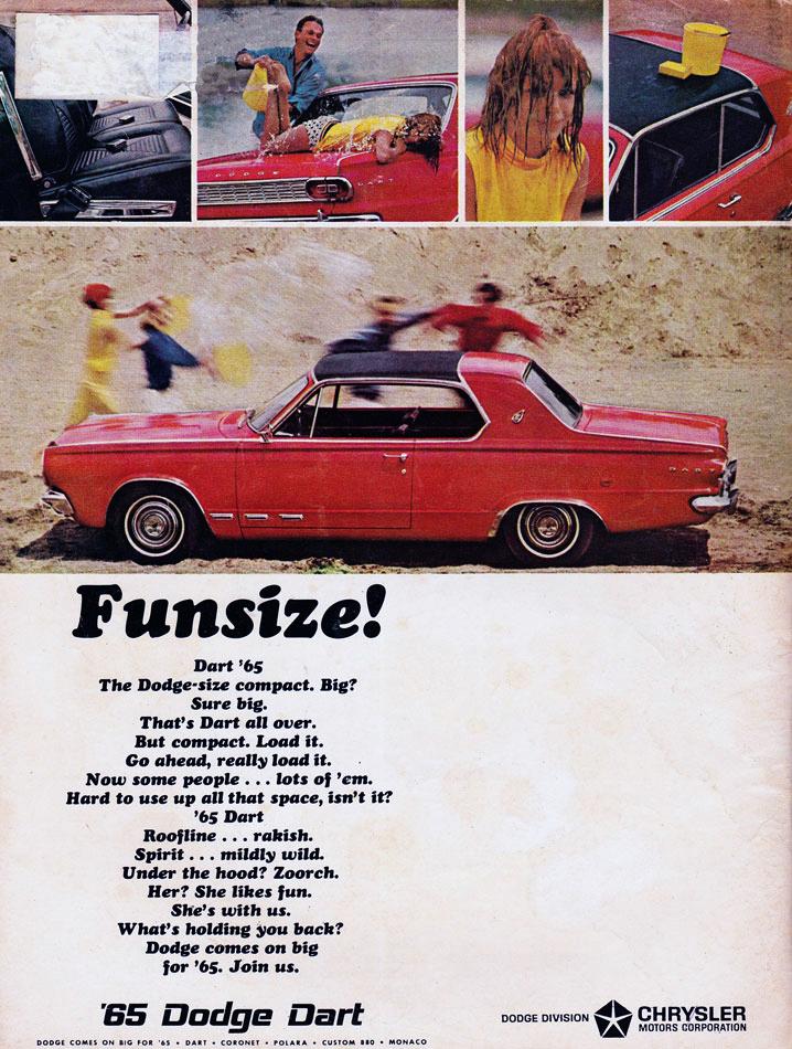 65 Dodge Dart Funsize Ad