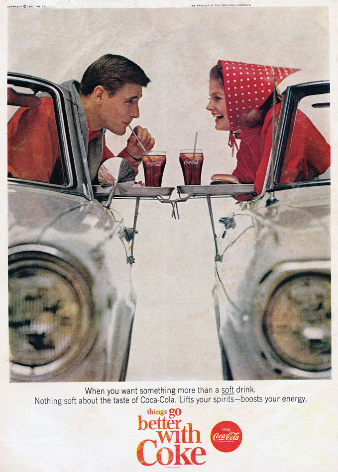 Coke Drive In Ad