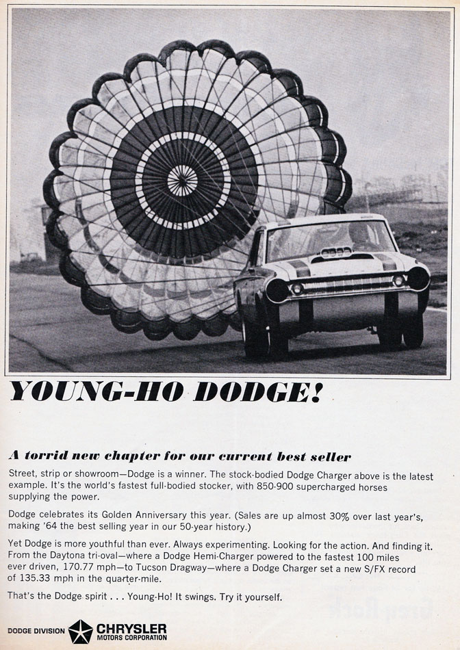 Young Ho 64 Dodge Ad