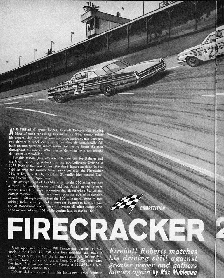 62 Fireball Roberts Daytona Win