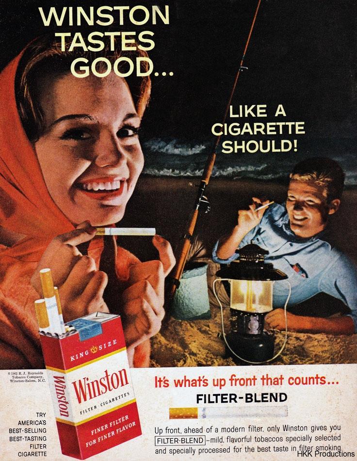 62 Winston Tastes Good Ad