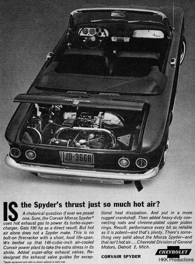 63 Corvair Ad