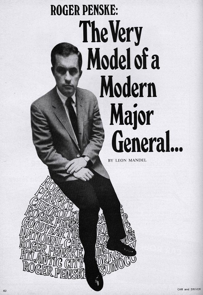 Roger Penske Modern Major 68