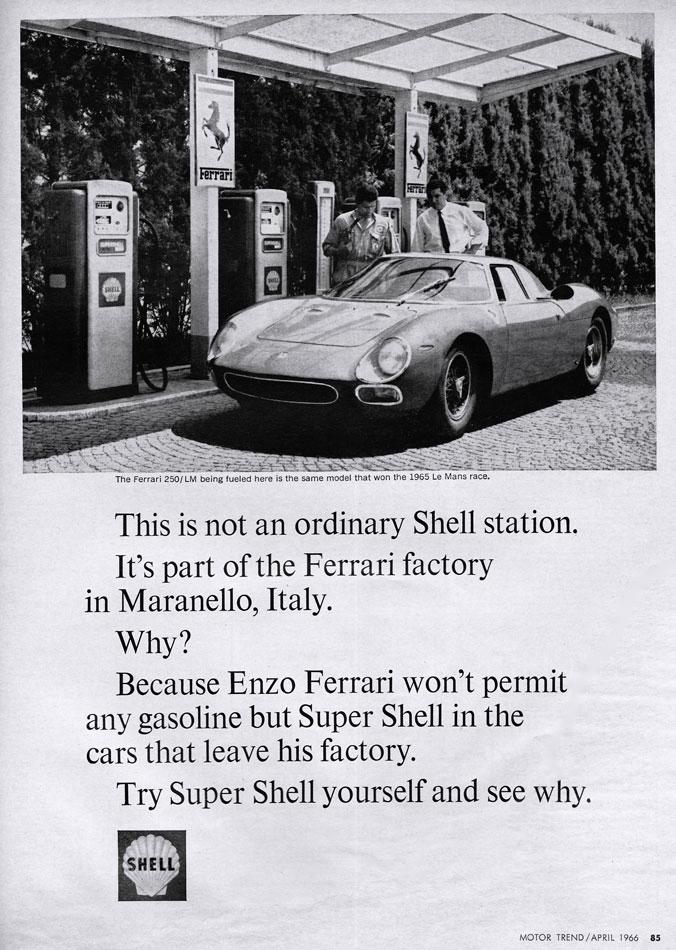 65 Ferrari 250LM LeMans Winner