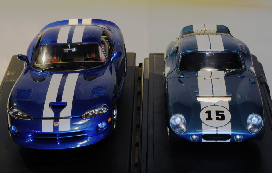 96 Dodge Viper GTS Coupe And 65 Shelby Cobra2