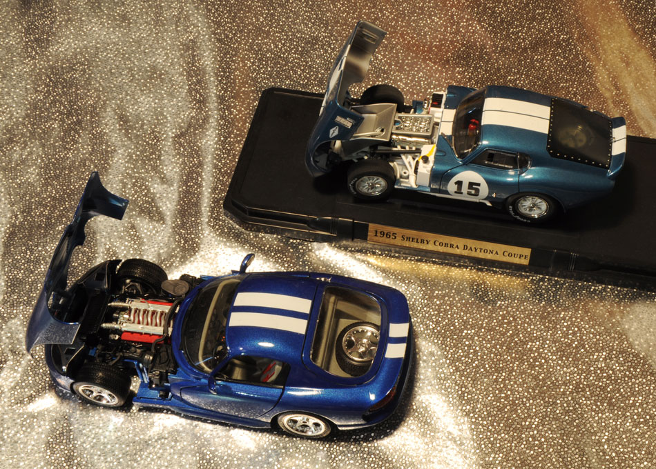 96 Dodge Viper GTS Coupe And 65 Shelby Cobra3