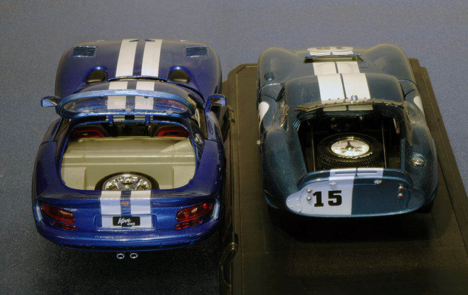 96 Dodge Viper GTS Coupe And 65 Shelby Cobra5
