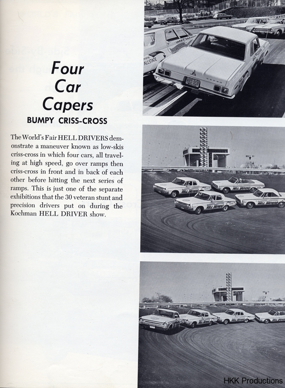 Four Car Capers