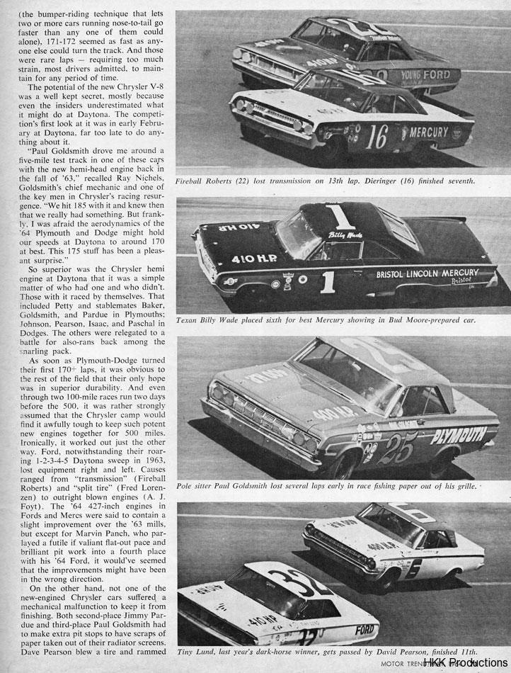 64 Daytona 500 2