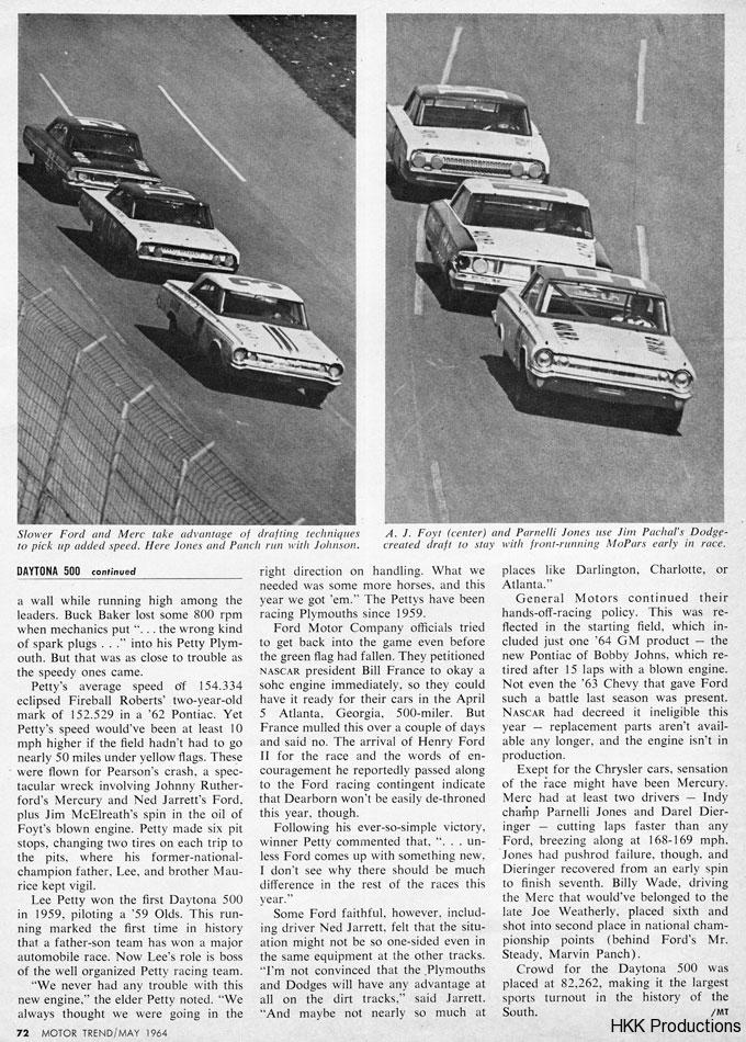 64 Daytona 500 3