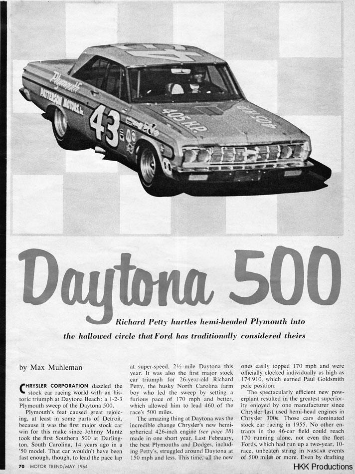 64 Daytona 500