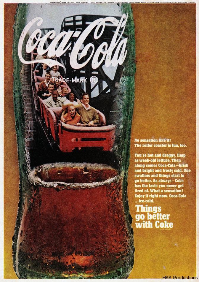Roller Coaster Coke Ad