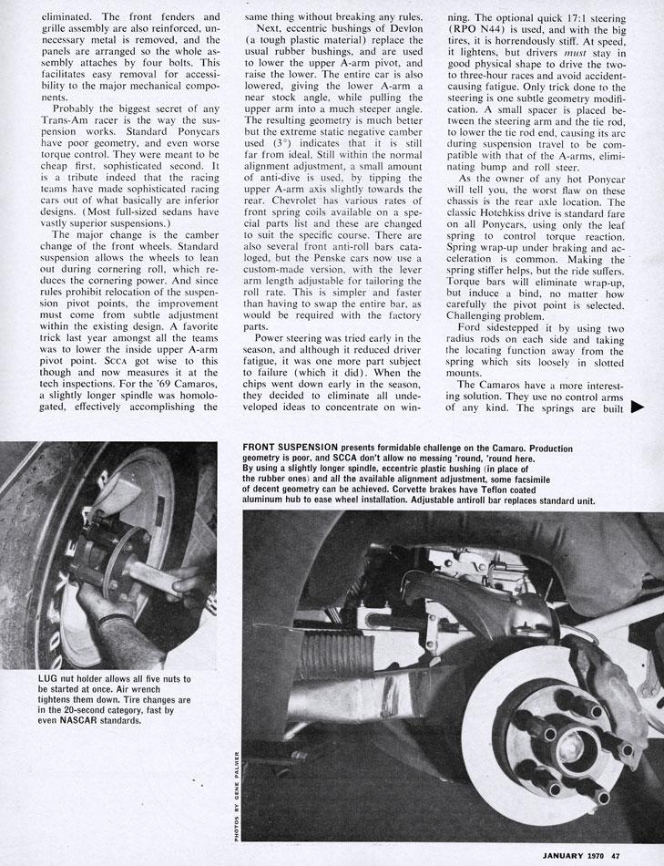 Penske Donohue 69 Camaro
